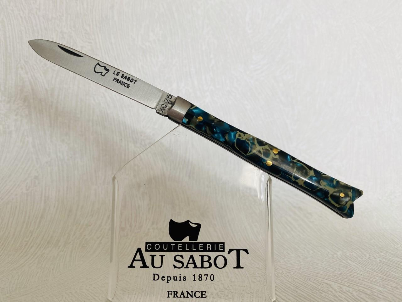"""Couteau de poche """" Queue de poisson """" au prix de 35,90 euros ."""